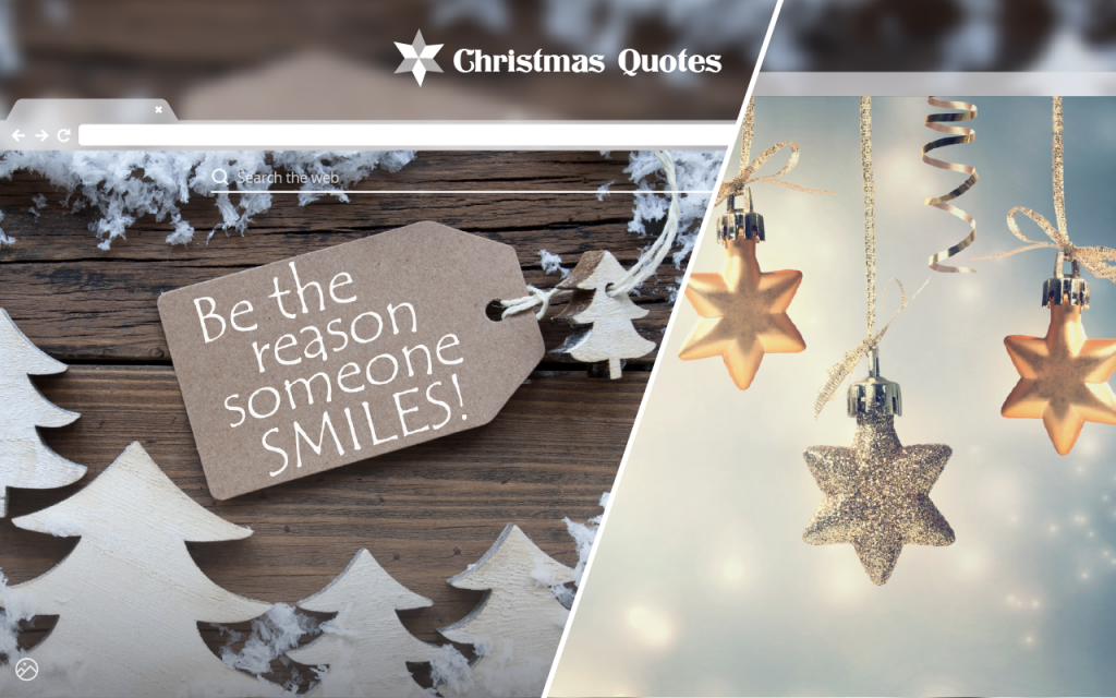 Christmas Quotes HD Wallpapers New Tab