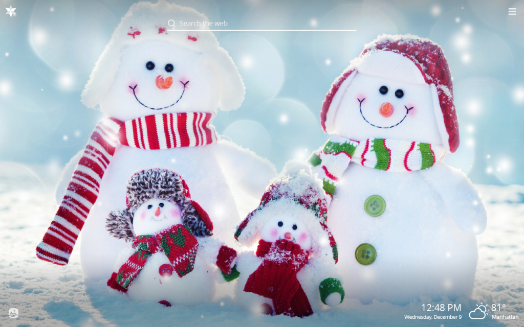 Snowman HD Wallpapers New Tab