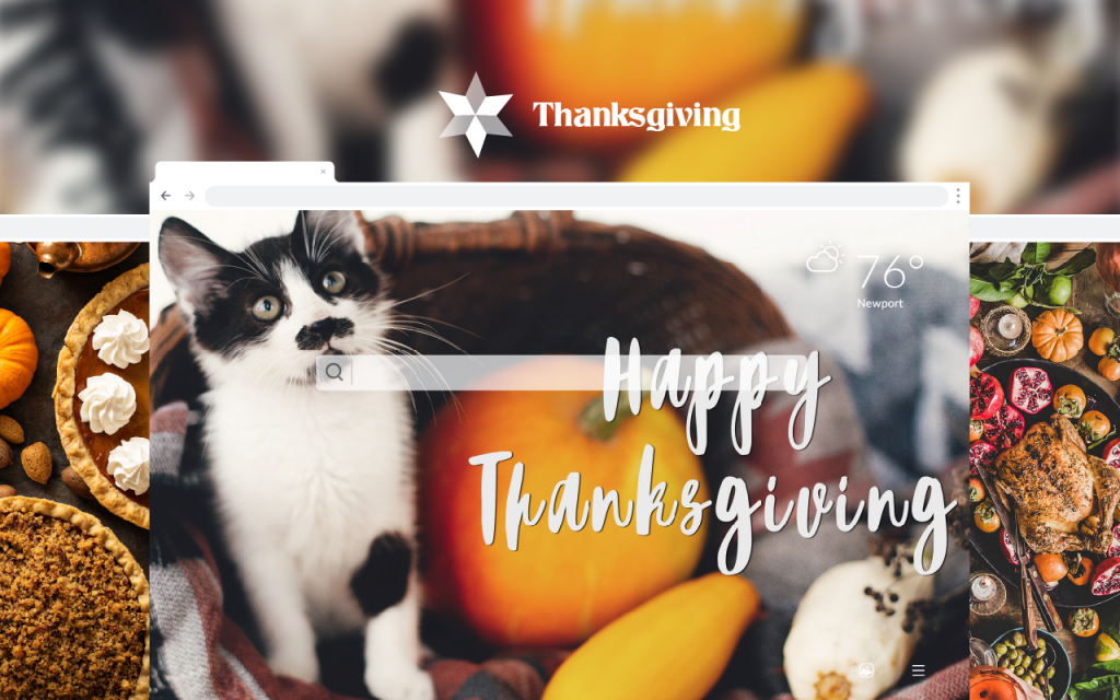 Thanksgiving HD Wallpapers New Tab